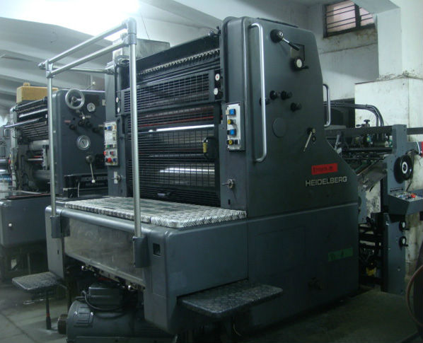 Heidelberg SORD Single Color Offset Printing Machine