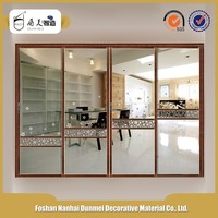 All Kinds Of European Style Decorative Soundproof Fireproof Ventilated Pvc Plastic Interior Door Designs 2016