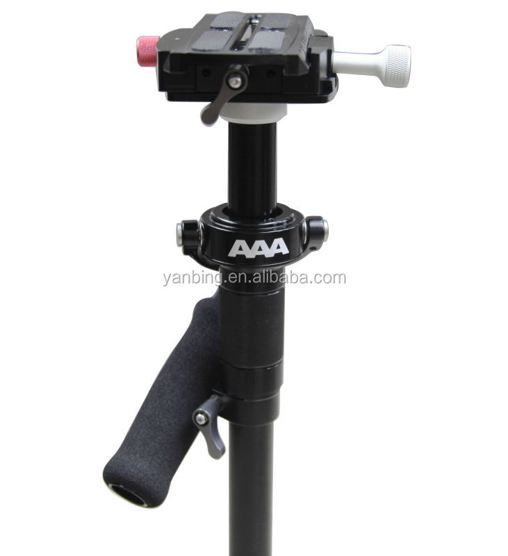 The cheapest hand held sled steadycam stabilizer with quick released plate