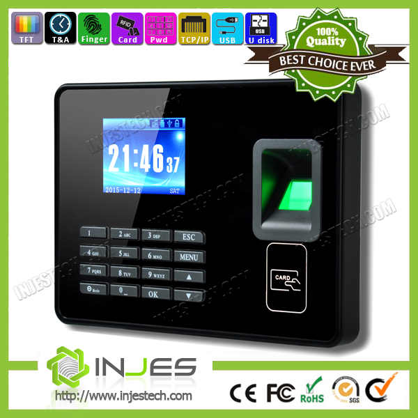 2016 New Punch Card Finger Print Employee Attendance Machine Wifi