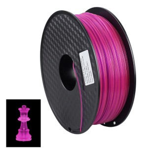 1.75mm 1KG PETG/ABS/PCL/PLA filament for 3D printers Fluorescent color