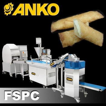 Anko Small Scale Commercial Close Sealed Ends Spring Roll Machine