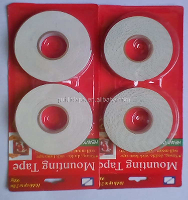 Construction Decoration Nice Packaging Strong Adhesive PE EVA Mounting Foam Tape