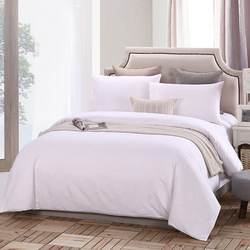 Best quality hotel style bed linen bedding set collection 100% cotton 300TC sateen fabric.