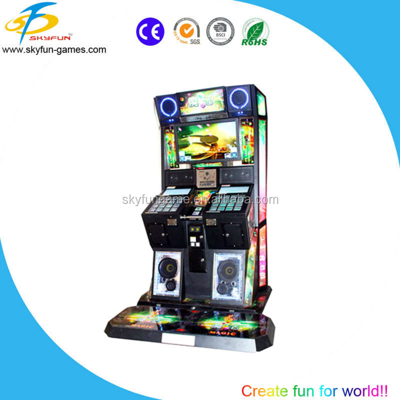 Double player game machine music simulator for sale