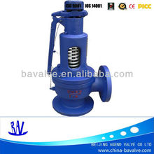 ductile iron fall lift full open pressure release valve