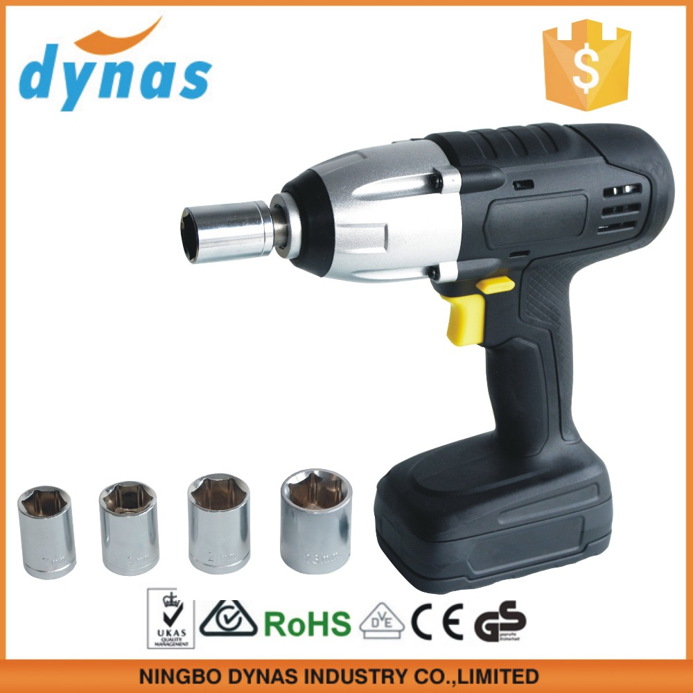 Electricity DC power rechargeable electric wrench cordless wrench