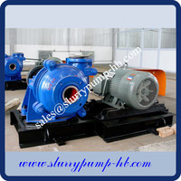 the good price slurry pump dewatering from river in gold mining