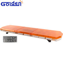 Low profile dc12v or 24v 1200mm warning amber led light bar