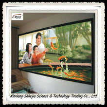 4:3 200inch 3D Cinema high clear picture frame projection screen