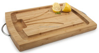 New Kitchen Utensil Design Bamboo Pro Chef Catering Carving Board 100% Natural Bamboo Chopping Board Top Quality Cuttin Board