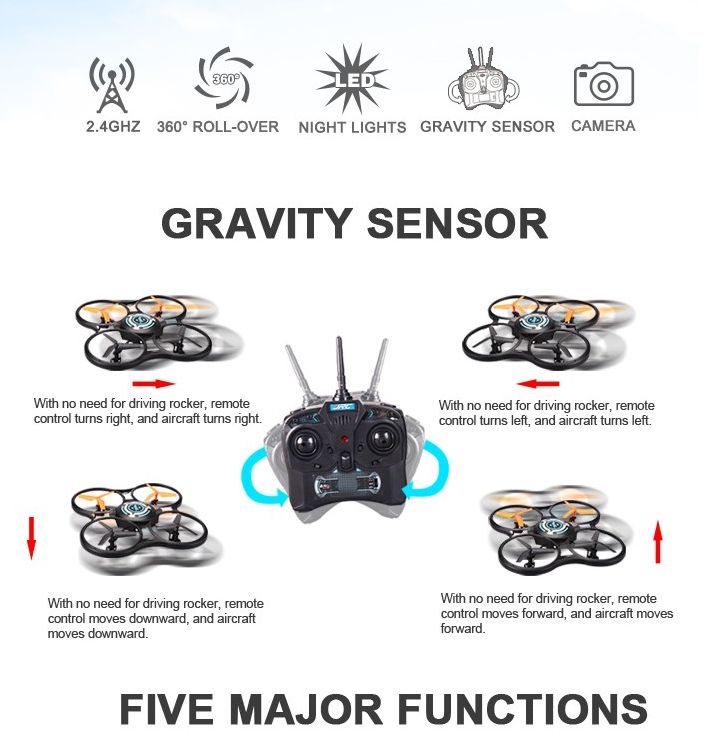 Mini drones JJRC JJ600 2.4G 4CH drone 6 Axis Quadcopter Gravity sensor RC Quadcopter Remote Control Helicopter