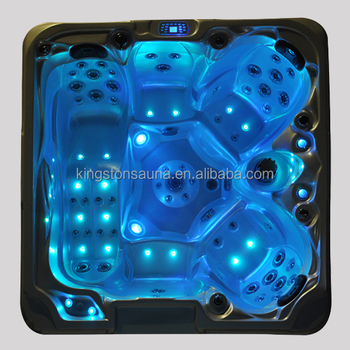 2015 KGT new air jets simming pool spas hot tubs JCS-37 with feet massage jets