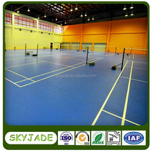 Indoor and outdoor good quality PVC sport flooring for basketball court and tennis court