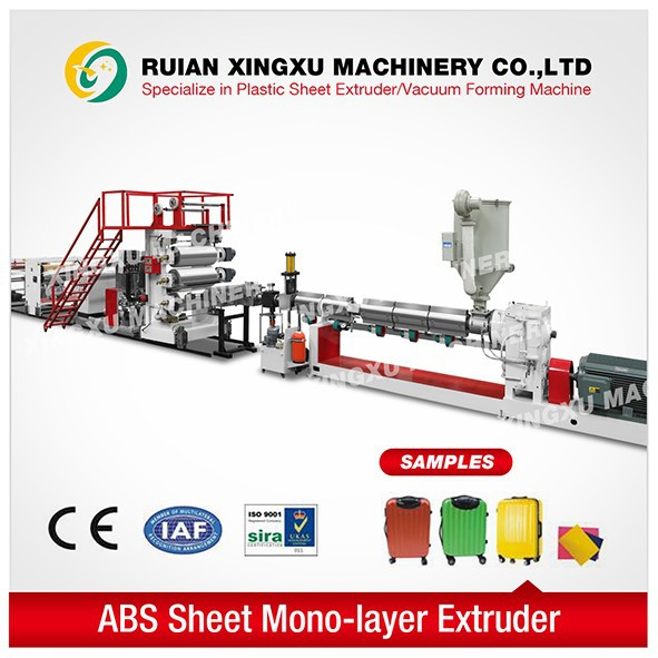 price of Mono-layer plastic sheet extrusion machine
