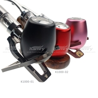 Kamry original factory and new item cheap wood appearance hookah price best rechargeable e pipe drip tips