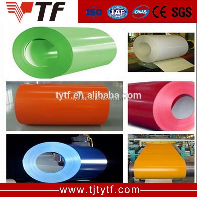 Price list Alibaba china color bond coated steel coil