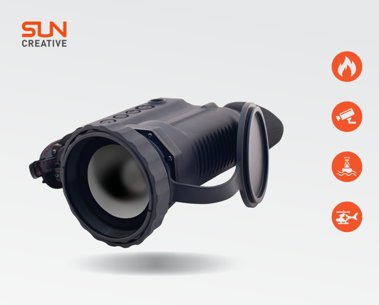 T300-60 high resolution high performance clear image day and night version thermal imaging binoculars