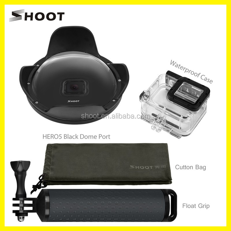 Shoot Underwater Dome Port 6 inch for Gopro 5 Camera Accessories
