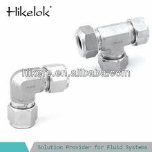 union tee 1/2 stainless steel forged pipe fitting compression fittings