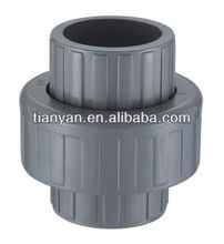 TY High quality Union Cheap Price Union Full Size PVC fittings pipe list