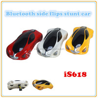 bluetooth smartphone rc car side flips flip stunt car high quality toys