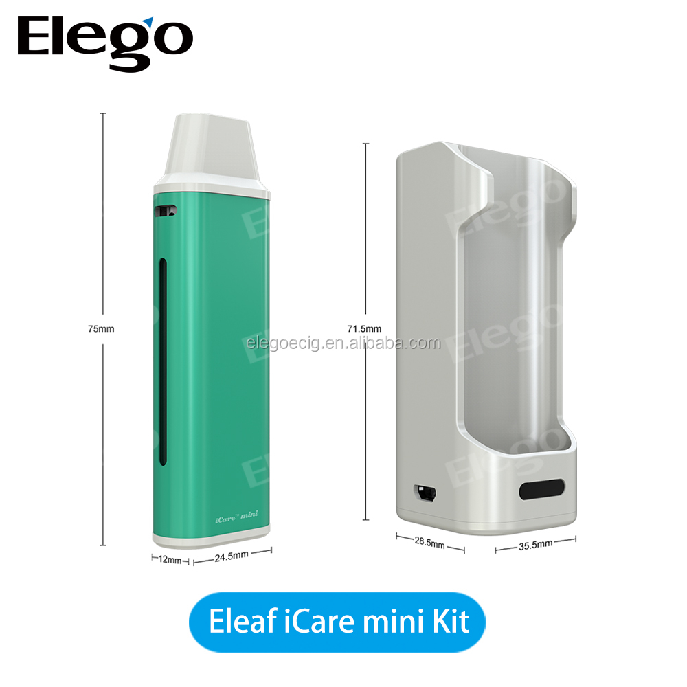 stock wholesale Authentic Eleaf iCare mini vape 1.3ml