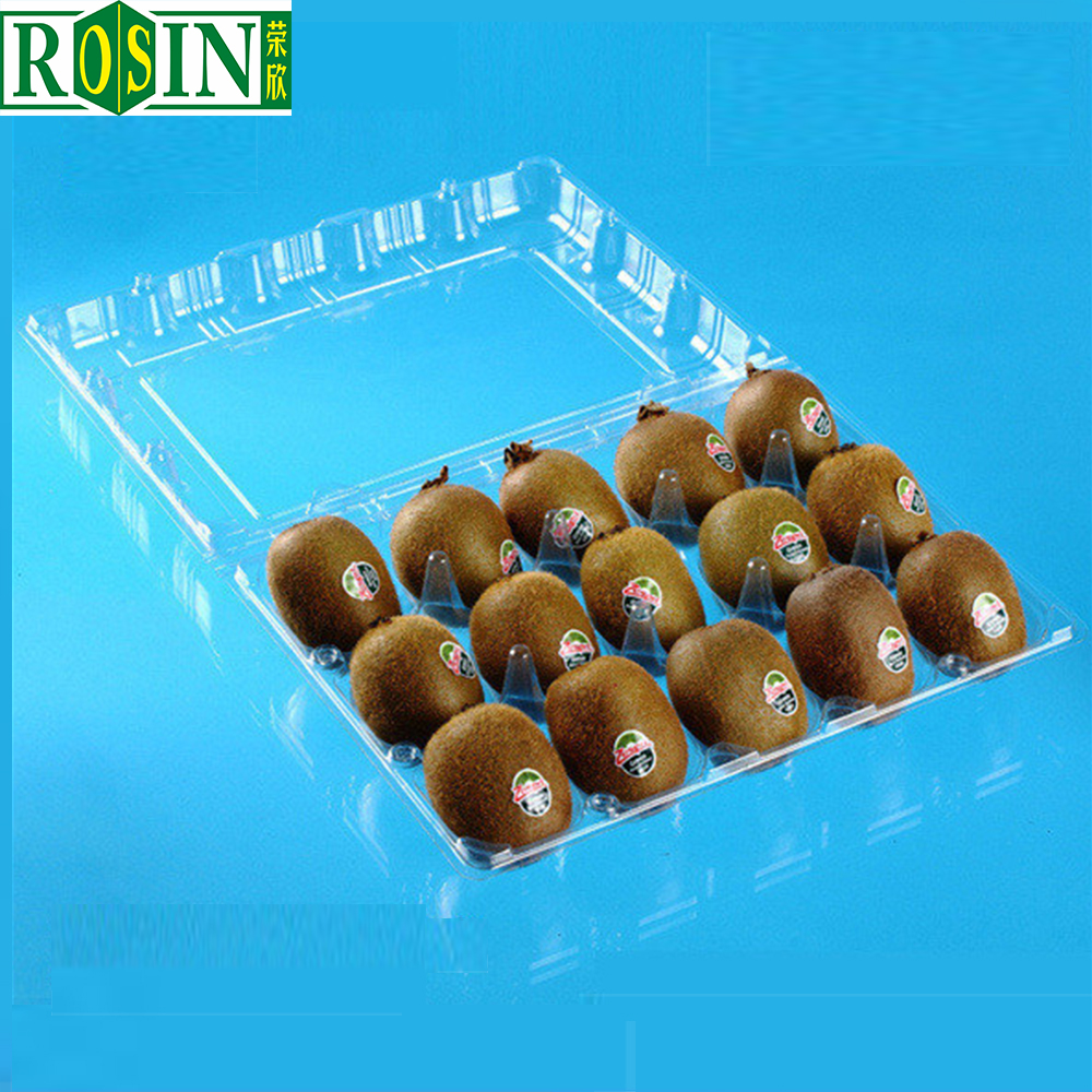 Factory Direct Sale Customized New Design Kiwi Fruit Packaging Plastic Trays
