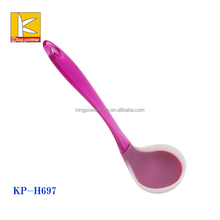 New arrival products silicone soup ladle , different types of ladle