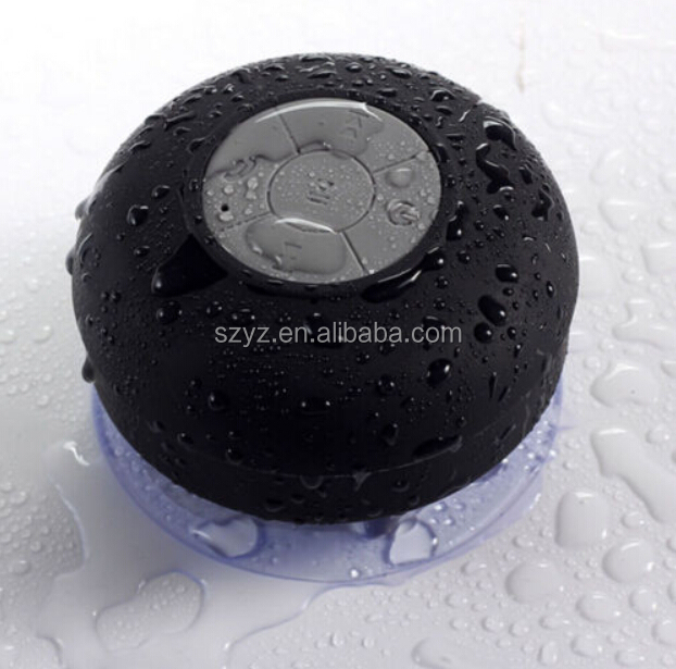 HIGI 2015 shenzhen factory hot sale protable outdoor waterproof bluetooth speaker for washing room,outside