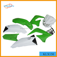 motorcycle spare parts FOR dirt bike KLX150 plastic body suit
