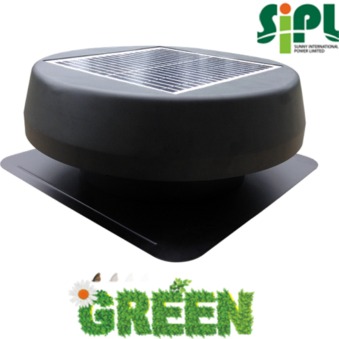18v Solar Dc Motor Powered Attic Cooling Solar Ventilation