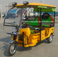 High Quality China Adults Three Wheel Electric Tricycle for Sale