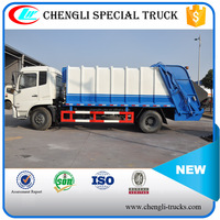 Dongfeng 4*2 190hp 10T 12T Garbage Compactor Truck Waste Collection Vehicle Manufacturer