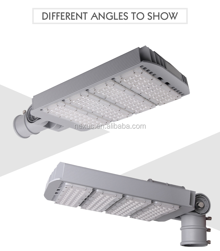 120W Fashionable customized cobra head led street light fixtures