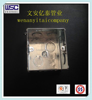 galvanized Metal conduit Electrical Terminal Box made in china
