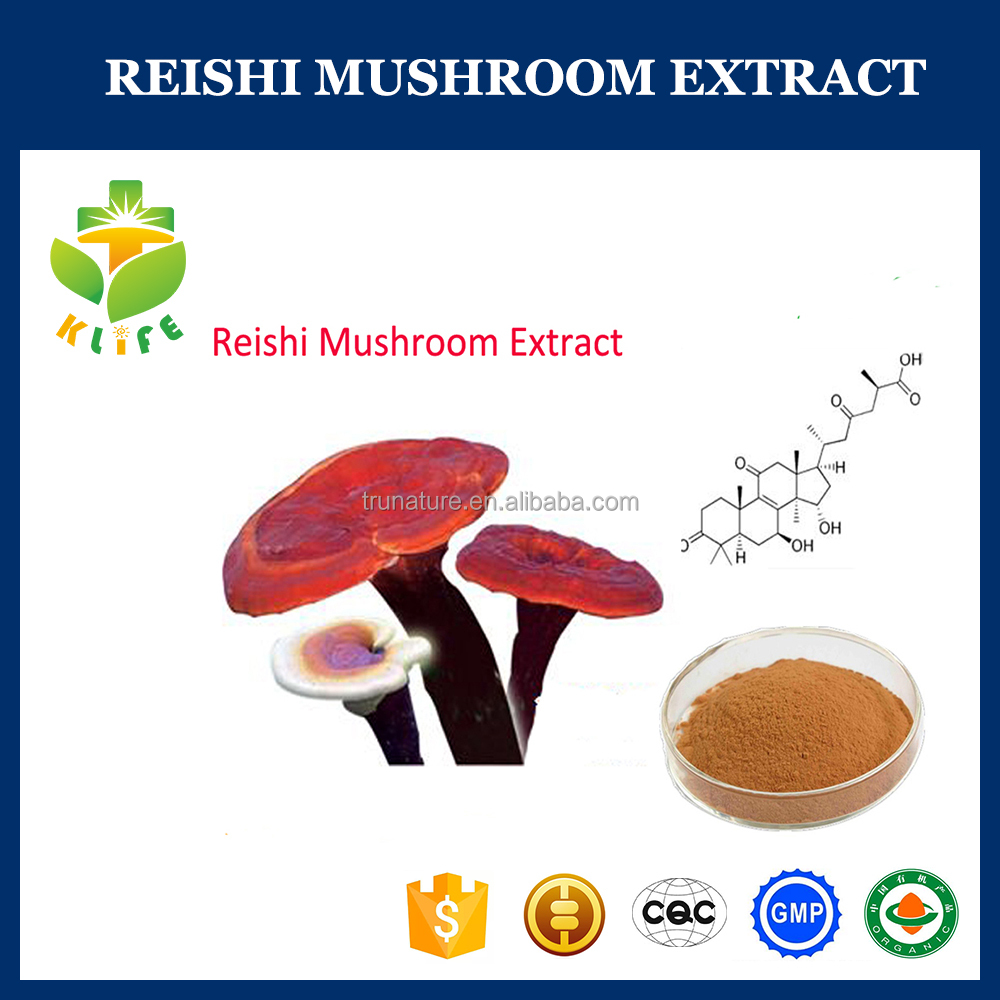 reishi mushroom triterpenoid 1%-20% lingzhi extract powder