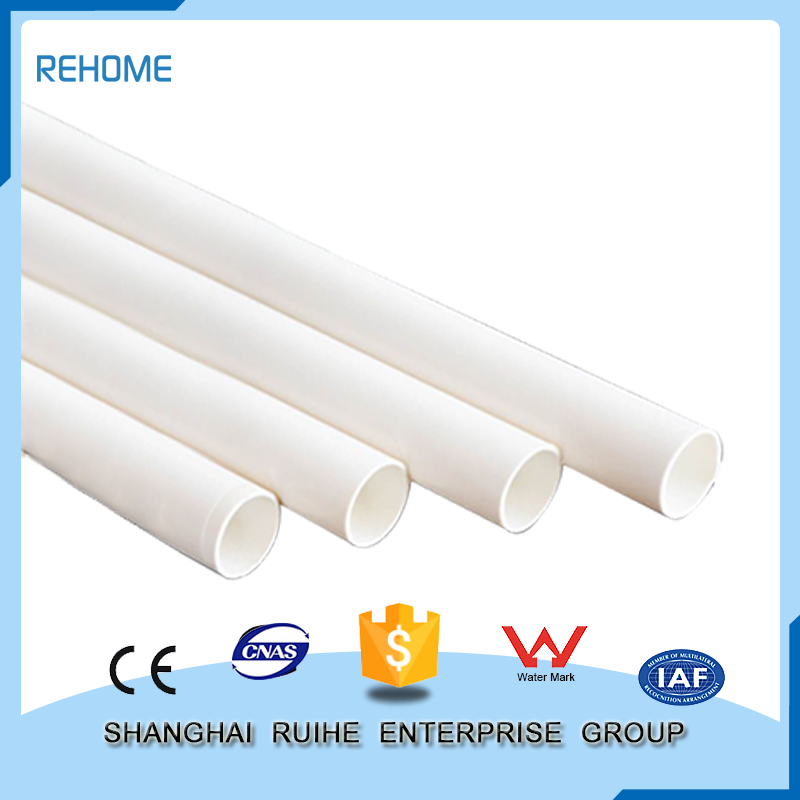 Superb China supplier pvc pipe fitting plastic tubes for sale