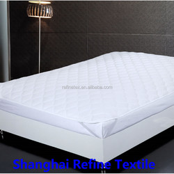 Hospital disposable quilted mattress cover,fabric mattress cover
