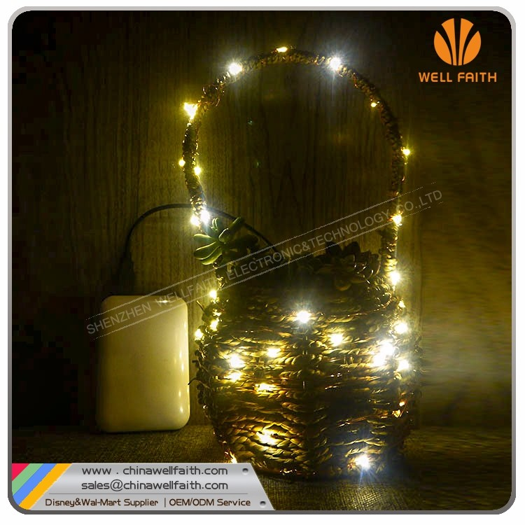 Home decoration Christmas Light String,Portable Led Copper Wire USB Light String