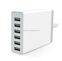 Multi port usb charger for mobile phone charging stand,travel adapter