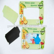 Eco-frirndly 100% non-toxic magnetic photo frame for fridges