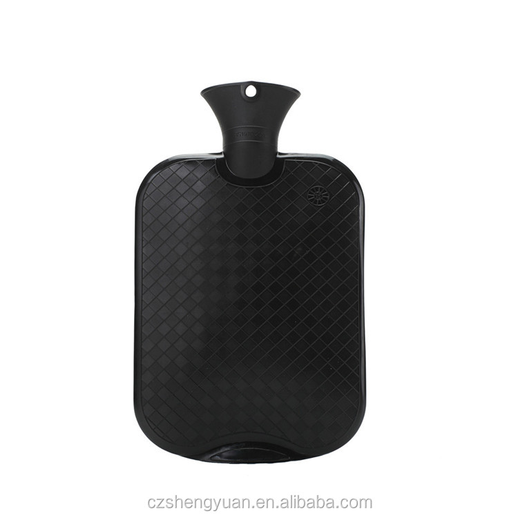 New design black plastic water bottles