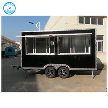 mobile kitchen churros caravan mobile wood food cart food truck with wheels