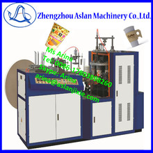 Automatic recycle paper bowl making machine/ water paper cups forming machine/disposable soybean milk paper cup making machinery