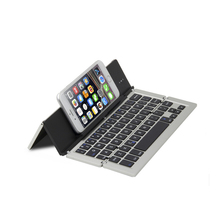 BSCI Factory Supplier folding wireless bluetooth keyboard for pc laptop