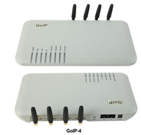 Wholesale 4 Channels GOIP / GSM VOIP gateway SIP Gateway, Support VPN & IMEI change&SMS,4 GSM Chips DBL GOIP4
