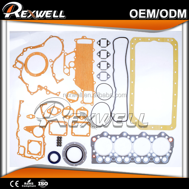 Automotive Engine parts Full Gasket Set ME996360 FOR MITSUBISHI 4D35
