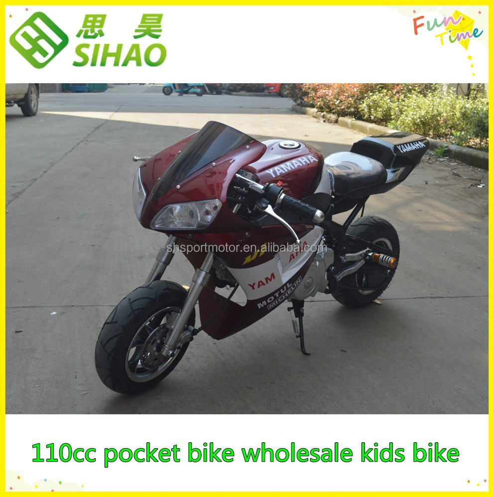 110cc supper pocket bike wholesale kids bike