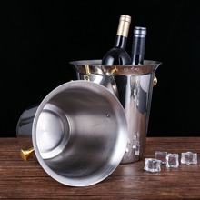 Chongqing juyuan stainless steel bucket for ice bar party usage ice champagne
